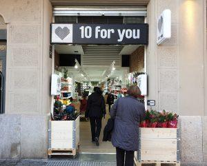 10 For You, tiendas de todo a 10 euros. Cadena de tiendas de precio único