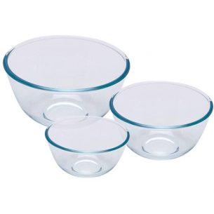 set cuencos de vidrio de 3 medidas tienda todo a 10 euros