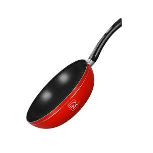 wok 24cm rojo para inducción barato