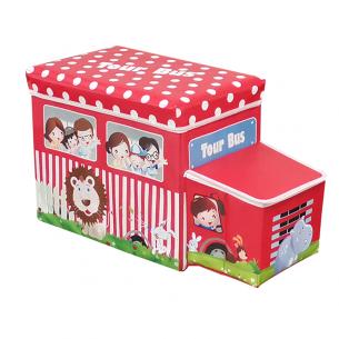 Caja de guardado tour bus para niños